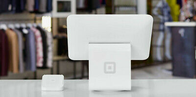 Brand New in Box Square Stand with Point of Sale Card Reader for small business