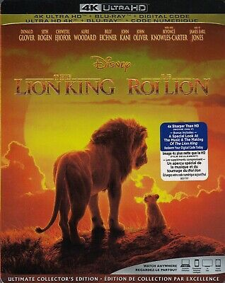 The Lion King (2019) (4K Ultra Hd/Bluray)(2 Disc Set)(Used)