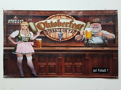 Oktoberfest wall banner with Grohmets