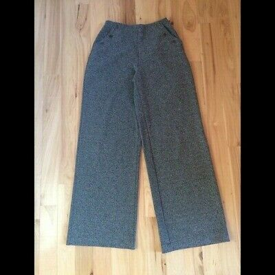 NWOT Abercrombie and Fitch size XS wide leg grey pants