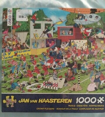 TOM100-322 SWAN FAMILY 1000 PIECE TOMAX GLOW IN THE DARK PUZZLE