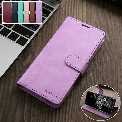Samsung Galaxy S20/Plus/Ultra 5G S10 Leather Wallet Case Stand Card Flip Cover