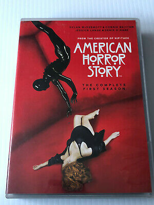 American Horror Story The Complete  First Season   ( Dvd ) 4-Disc Set