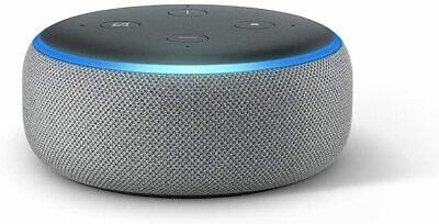 Amazon Echo Dot (3rd Generation) Heather Grey Smart Speaker with Alexa - New