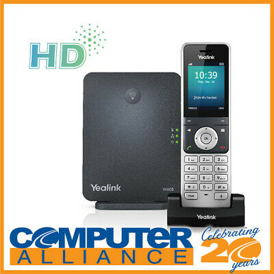 Yealink W60P High-Performance DECT IP Phone System