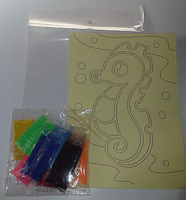 Promotion!! $1.60 per pack Sand Art Kit (30 packs in 30 designs) for party, fete
