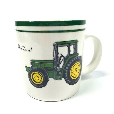 John Deere Tractor Coffee Cup Nothing Runs Like A Deere Official Mug by Gibson