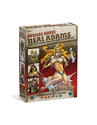 Zombicide Black Plague - Special Guest Box Neal Adams (Multiidioma)