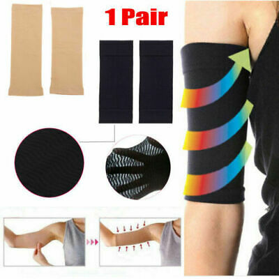 2x Women Weight Loss Arm Shaper Fat Buster Off Cellulite Slimming Wrap Belt Band
