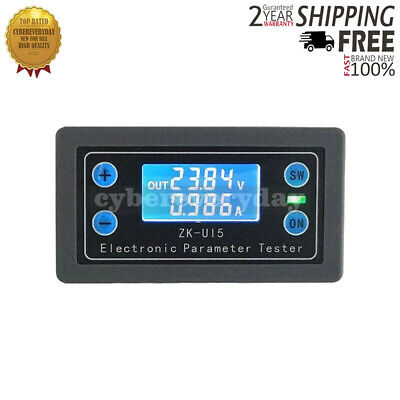 Voltmeter Ammeter Power Capacity Time Low/Over-Voltage Protection Charge Control