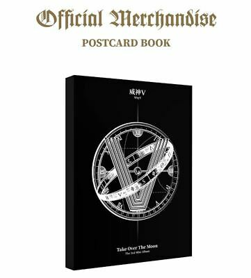 WayV NCT CHINA OFFICIAL GOODS Take Over the Moon POSTCARD BOOK SEALED