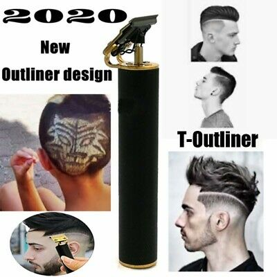 NEW Kemei 1971 Pro T-Outliner Skeleton Cordless Trimmer Hair Clipper Machine