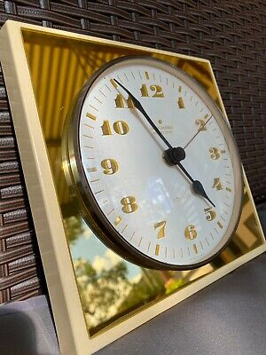 Vintage Junghans Gold Electronic ATO-MAT Clock