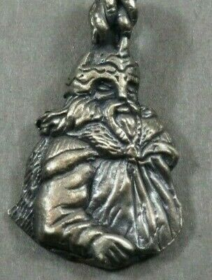 Ancient Viking Norse Silver Military Amulet Pendant Warrior Soldier 700-900 AD