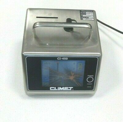 CLIMET CI-450 Airborne Particle Counter Cell Counter 2005