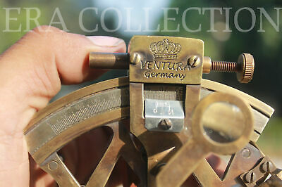 Collectible 4 Inches Marine Nautical Brass Ship Sextant