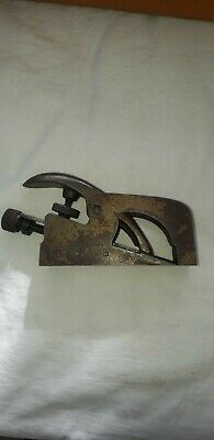 Record No. 077 Rabbet Plane - As Photo's, Made In England old workshop find