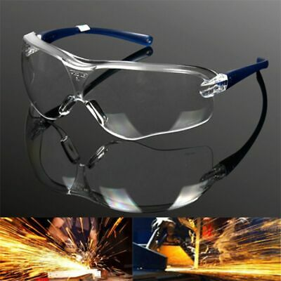 Factory Lab Work Safety Eye Protective Glasses Anti-impact Wind Dust Goggles CA