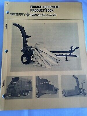 Forage Equipment Product Book Sperry Holland 6135187