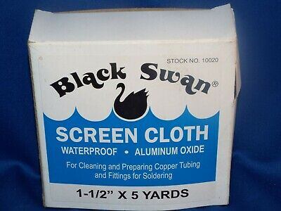 "Black Swan Mfg. Co. Screen Cloth (1-1/2"" x 5 yds)"