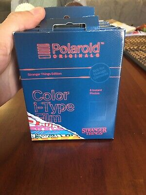 NEW Polaroid Originals - Color i-Type Stranger Things Edition Film (8 Sheets)