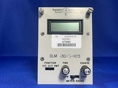 TDI Dynaload Division electronic load