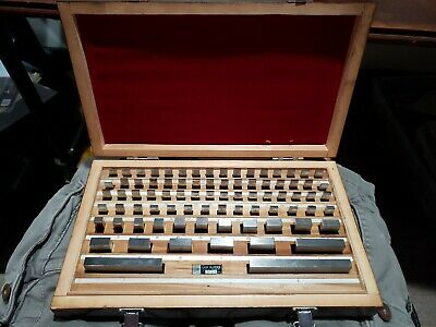 Ttc Pgb-81 81 Piece Gauge Block Set Grade B Serial #91801