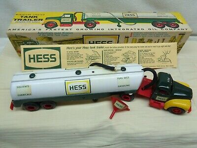 1964 Hess Tanker Truck with Original Box and Funnel