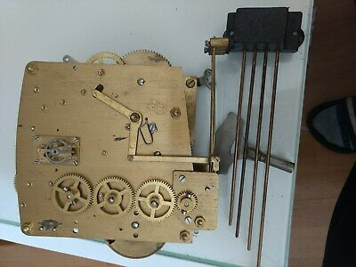Mantle clock movement Perivale with platform