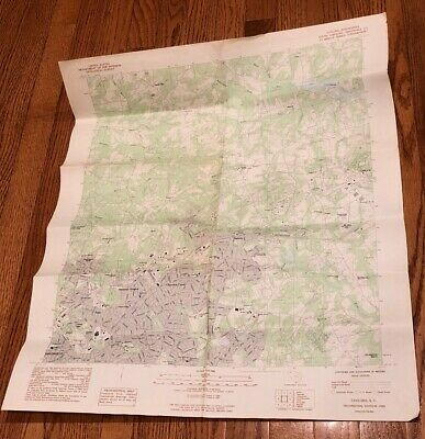 1983 Provisional Edition Topographic Map Taylors GREENVILLE SC