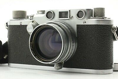 【NEAR MINT】 Leica DRP Ernst Leitz Wetzlar IIIF w/ Summitar 50mm f/2 L From Japan