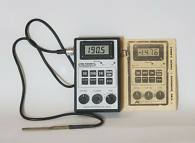 Magnetic Gauss Meter Magnet Field Detector Gm-1A Digital Excellent Condition