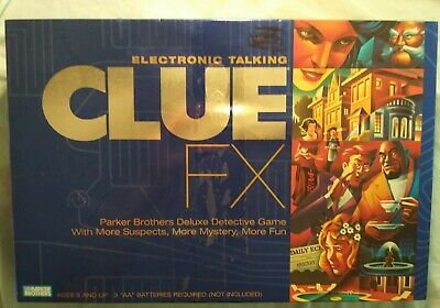 Replacement Parts 2003 Electronic Talking CLUE FX Parker Brothers YOUR CHOICE