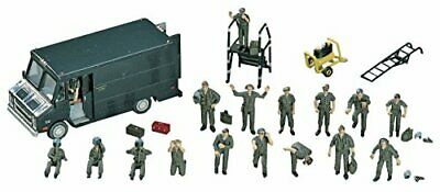 Hasegawa 1/72 the United States Air Force pilot and ground crew set Plastic X72-