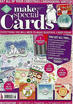 Make Special Cards Issue 21. 2019.   Free Cardmaking  Kit.