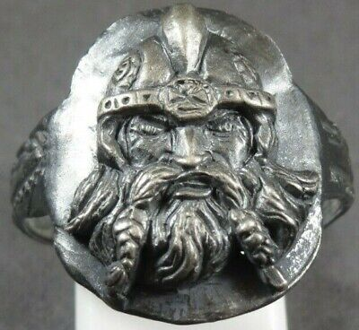 Scarce Ancient Viking Norse Silver Military Ring Warrior Soldier 700-900 AD