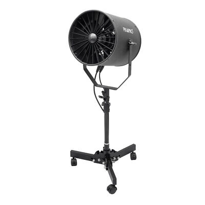 Adjustable Speed Professional Studio Wind Machine Studio Fan + Floor Low Stand