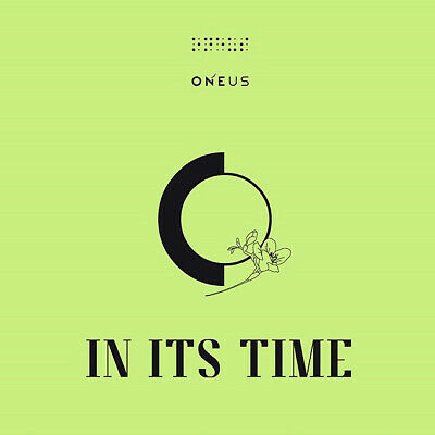 ONEUS IN ITS TIME 1st Single Album CD+POSTER+Foto Buch+3p Karte+F.Poster+Sticker