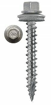 "#10 1"" to 3"" Sheet Metal Roofing Screws 18 COLORS 100 Count"