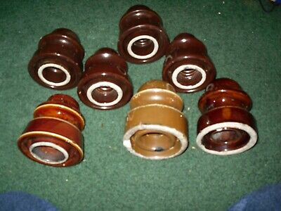 """100 pc P/&S 511 OVAL HEAD MILLED SLOT 3//4/"""" LONG 6//32 THREAD SCREW Brown antique"""