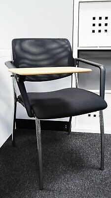 Mesh Office chair with folding table