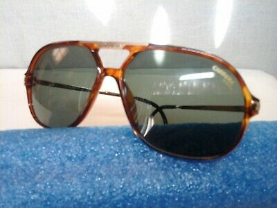 * CARRERA SUNGLASSES 5592 40 125 EP NEW VINTAGE GOLD AVIATOR MADE IN GERMANY