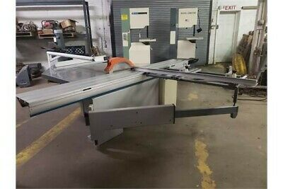 "12""-14"" Sliding Table Saw W/ Scoring Motor 3Ph"