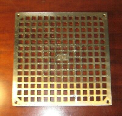 Jay R Smith 10 1/2 x 10 1/2  P/N 06487 Solid Brass Floor Drain Cover