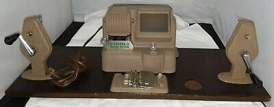 Vintage Working Corona Super Editor Film Movie Machine