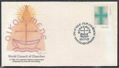 Canada Scott 994 Fleetwood FDC - World Council of Churches