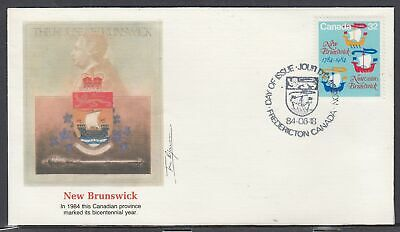 Canada Scott 1015 Fleetwood FDC - St. Lawrence Seaway, 25th Anniv.