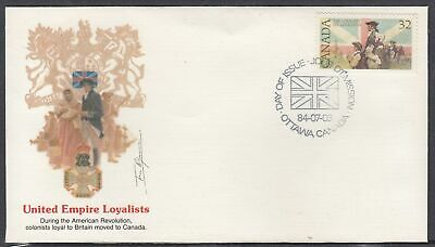 Canada Scott 1028 Fleetwood FDC - United Empire Loyalists