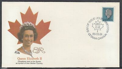 Canada Scott 789 Fleetwood FDC - 1983 Queen Elizabeth Definitive Issue