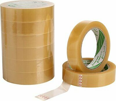 Clear Gift Cellotape Parcel Packing Packaging Sticky Adhesive Tape 25mm x 50m